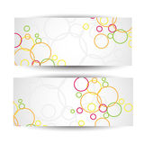 Abstract website header or banner.Vector Royalty Free Stock Images