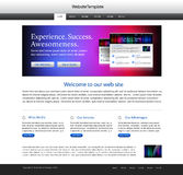 Abstract website template Royalty Free Stock Photography