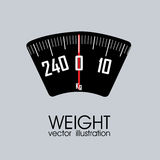 Abstract weight Royalty Free Stock Photo
