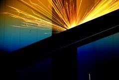 Abstract welding Royalty Free Stock Image
