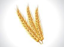 Abstract wheat ears. Vector illustratioin Royalty Free Stock Photos