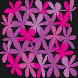 Abstract Whimsical Flower Background Royalty Free Stock Image