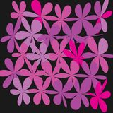 Abstract Whimsical Flower Background Royalty Free Stock Photography