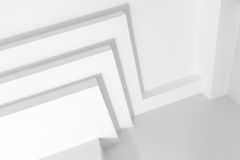 Abstract white architecture background Royalty Free Stock Image