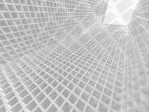 Abstract White Architecture Futuristic Design Background Stock Photos