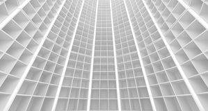 Abstract white architecture interior Royalty Free Stock Photos