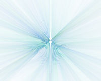 Abstract white background with blue perspective rays texture Royalty Free Stock Images