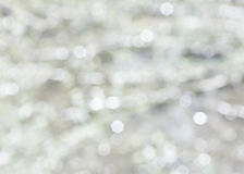 Abstract white background bokeh Stock Images