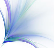 Abstract white background. Colorful explosion of cold stripes or Royalty Free Stock Images