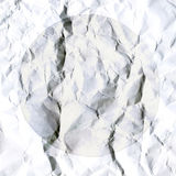 Abstract white background of crumpled white paper sheet Stock Photos