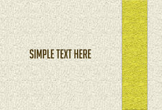 Abstract white background gold scrapbook design layout Royalty Free Stock Photo