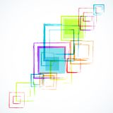 Abstract white background with grunge rhombus Royalty Free Stock Image