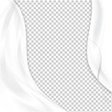 Abstract white background Stock Photography