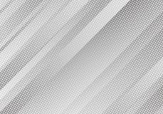 Free Abstract White Background With Stripes And Dots. Vector Minimal Banner. Grey Colored Sleek Texture For Banners . Royalty Free Stock Photos - 137051578