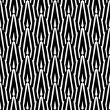 Abstract White Black Psychedelic Pattern Stock Photos