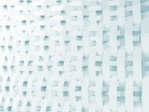 Abstract white and blue background 3d Royalty Free Stock Photos