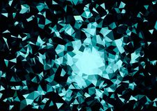 Abstract white blue color bokeh wallpaper Royalty Free Stock Photo