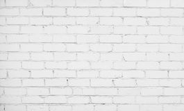 Abstract White Brick Background Stock Photos