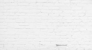 Abstract White Brick Background Stock Photo