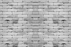 Abstract  white brick wall background Royalty Free Stock Photos