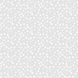 Abstract White Bubbles Seamless Background Pattern. Subtle Abstract Monochrome White 3D Bubbles Seamless Background Pattern. Vector Illustration. Pattern Swatch Stock Illustration