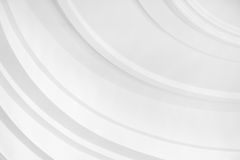 Abstract white circles Stock Photos