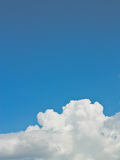 Abstract white clouds Stock Photography