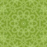 Abstract green background. Abstract white concentric pattern on green background stock illustration