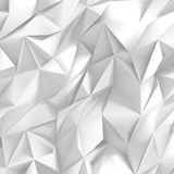 Abstract White Crumpled Paper Pattern Background Royalty Free Stock Photo