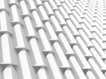 Abstract White Cubes Wall Background Royalty Free Stock Photos