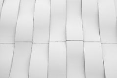 Abstract white curve Royalty Free Stock Images