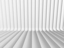 Abstract White Curve Lines 3d Background. 3d Render Illustration Stock Images