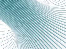 Abstract White Curve Lines 3d Background. 3d Render Illustration Royalty Free Stock Images