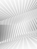 Abstract white 3d background with light beams. Abstract white 3d interior background with light beams vector illustration