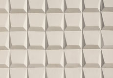 Abstract white decoration of wall Stock Photography