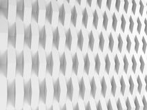 Abstract white digital background 3 d. Abstract white digital background, geometric relief pattern, corners over wall. 3d render vector illustration