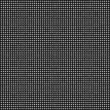 Abstract white dots on black background Royalty Free Stock Photo