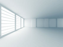 Abstract White Empty Room With Window Stock Image