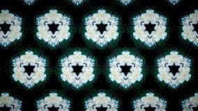 Abstract white flower pattern background Royalty Free Stock Image