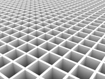 Abstract White Geometric Architecture Background Royalty Free Stock Photo