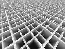 Abstract White Geometric Architecture Structure Background Royalty Free Stock Image