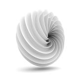 Abstract White Geometric Clean Figure Background Stock Photos