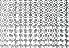 Abstract White Geometric Floral Texture in Grey Background. Abstract image of seamless white geometric flowers texture in gray background for website, banner stock photography