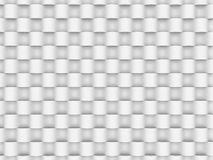 Abstract White Geometric Futuristic Background. 3d Render Illustration Royalty Free Stock Photo