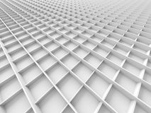 Abstract White Geometric Pattern Background Royalty Free Stock Photo