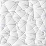 Abstract White Geometrical Background Stock Images