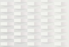 Abstract white gradient box. Background Stock Photography