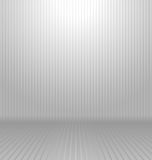 Abstract white and gray background with lines Stock Image