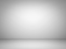 Abstract white and gray gradient background. 3D rendering Royalty Free Stock Images
