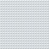 Abstract white and grey geometric squares seamless Royalty Free Stock Photos